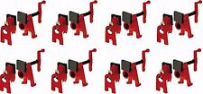 """(8) ea Bessey Tools BPC-H34 3/4"""" """"H"""" Style Woodworking Pipe Clamps w High Base"""