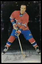 Steve Shutt AUTOGRAPHED card hockey picture Canadiens 22 Canada
