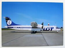 LOT Polish Airlines ATR 72-202 postcard