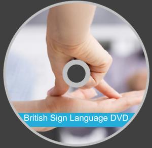 Beginners British Sign Language BSL course sign fluent in 3 months - CD DVD