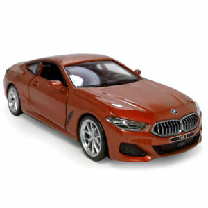 1:35 2018 BMW M850i Coupe Model Car Metal Diecast Gift Toy Vehicle Kids Red