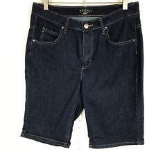 Lee by Riders Women Shorts Denim Walking Dark Wash Blue Size 10
