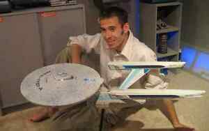 Space 1999 Eagle *1 Enterprise 1701 A  1/350 Scale unmade **HUGE**