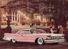 Old Print.  1959 Imperial Crown Two-Door Southampton Auto Ad