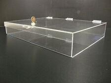 305displays Acrylic Countertop Display 19 X 13 X 3 Locking Security Showcase