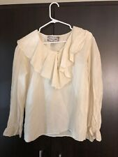 Jonathan Martin Ladies Silk Blouse S