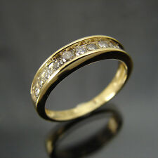 .50ctttw Diamond 10k Yellow Gold Wedding Band
