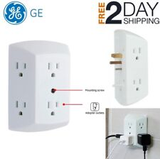 Wall Socket Splitter Divider Electrical Multi Plugs 6 Outlet Adapter Power Plug