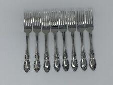 Oneida Louisiana Dinner Forks Set of 8 - New