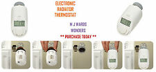 Electronic Radiator Thermostat - With Timed Temperature Control - Qty 1