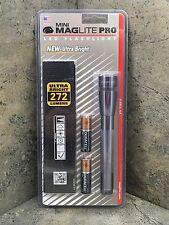 New Mini Maglite PRO LED Flashlight 2 AA Gray SP2P09H - 272 Lumens