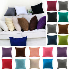 40x40cm Square Pillow Case Waist Throw Cushion Cover Home Room Sofa Decor 1pc