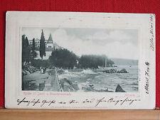 AK - Abbazia / Opatija - Kirche St. Jacob - Strandpromenade - gel 1902  m1