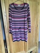 LADIES H & M Knit TUNIC TOP /Dress SIZE EUR  M