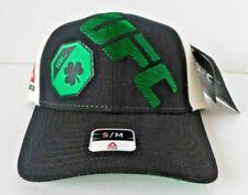Reebok UFC Ireland Black/Green/Cream Superflex Flex Fit Hat - Small/Medium - NWT