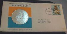 10 Dollar 1973 Bahamas Silver 48,95g, PP, slightly started