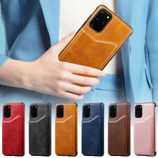 For Samsung Galaxy S20 S10 S9 S8 A50 Leather Flip Wallet Card Holder Case Cover
