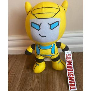 "2020 Toy Factory Transformers Bumble Bee Kawaii Plush 8"""
