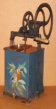 Vtg Early 1900's 630 B Dazey Butter Cream Churn Works 3-4 Gallon Cast Iron Wood