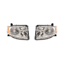 Fits 2009 - 2011 HONDA ELEMENT Head Light Pair