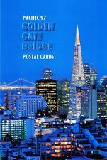 USPS First Day of Issue Ceremony Program UX282 UX283 Golden Gate PCs FDOI 1997