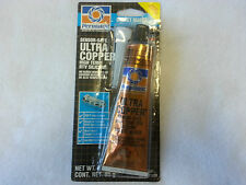 PERMATEX 81878 Ultra Copper Sensor Safe High-Temp RTV Silicone Gasket Maker 3oz