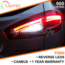 FORD BA15S P21W 382 CANBUS REVERSE LEDS LIGHT KIT UPGRADE BRIGHT PURE WHITE