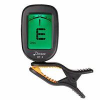 Donner Guitar Tuner Clip on DT-2 Chromatic Digital Tuner Acoustic Guitars,