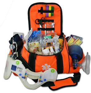 Trauma Bag Kit Large First Responder Medical Supplies Emergency Full EMT Aid BLS