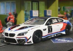 Sideways Racer BMW M6 GT3 swcar03a Slot Car. 1/32