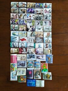 Norway lot of more than 380 different used stamps