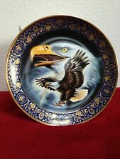 Ltd Ed Royal Doulton Profile of Freedom, Eagle Porcelain Plate - Collectible