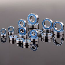 Blue Ball Bearing KIT 21PCS Traxxas Slash 4x4 Stampede  Metric Rubber Sealed RC