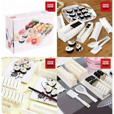 Set Moldes Sushi (molde 8 ranuras,otro de 7 ranuras,4 acces,tenedor,espátula)