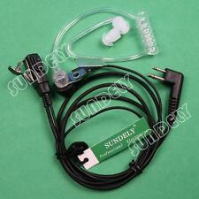 Acoustic Tube Earpiece/Headset for Motorola radio MagOne BPR40 EP450 AU1200 New