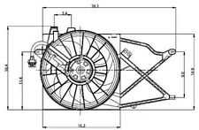 Engine Cooling Fan Assembly Global 2811301
