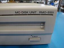 Sony RMO-S551SD External SCSI MO Drive 5.2GB