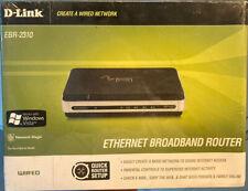 New ListingD-Link Ebr-2310 4-Port 10/100 Wired Ethernet Broadband Router Nib