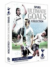 Tottenham Hotspur 3 DVD Box Set Spurs the Ultimate Goals Collection Multiregion