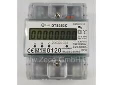 *NEU*LCD Drehstromzähler Stromzähler MID 2019 geeicht S0 für Hutschiene 80A