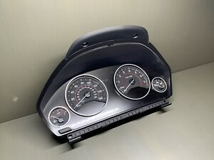 2015 BMW F30 3 Series 335 Instrument Cluster Speedometer, Used 59K miles