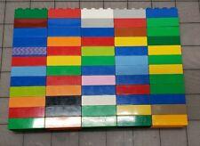 Lego Duplo Bricks Lot of 60 2x4 Stud Bricks Blocks Mixed Assorted MA02