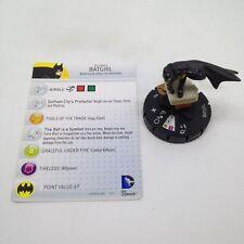 Heroclix No Man's Land set Batgirl (Helena) #002 Limited Edition figure w/card!