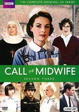 Call the Midwife: Third Season 3 Three (DVD, 2014, 3-Disc Set)