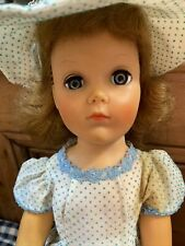"""Vintage Horsman Cindy High Fashion Doll 18"""" Tall Rooted Strawberry Blonde Hair"""