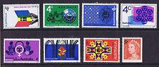 Australian Decimal Stamps Complete 1967 Set 8 MNH (8 stamps)