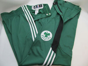 adidas Celtics Authentic On Court Team Issue NBA Player's Warm Ups Tear Away NWT