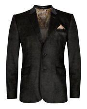 TED BAKER BLACK VELVET TAILORED OCCASION JACKET COAT BNWT 5 / UK 42 R RRP £369