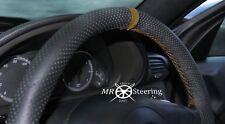 Cubierta del Volante Cuero Perforado se ajusta a Mercedes SLK R170 96+ Correa Marrón