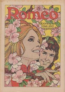 ROMEO (13 May 1972) Romance Comic - Rod Stewart - Girls comic